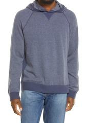 Men's Vince Birdseye Trim Fit Wool & Cashmere Pullover Hoodie