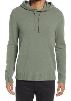 Men's Vince Classic Merino Wool & Yak Hoodie Sweater
