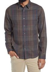Men's Vince Forest Plaid Button-Up Shirt