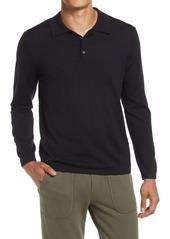 Vince Merino Wool Polo Sweater