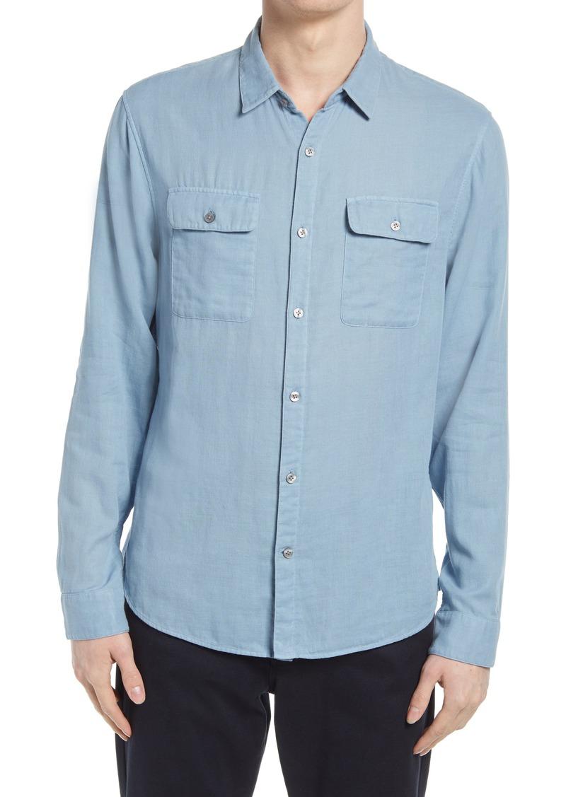 Men's Vince Regular Fit Button-Up Shirt