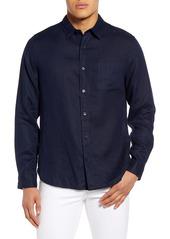 Men's Vince Regular Fit Linen Shirt