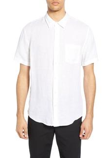 Men's Vince Short Sleeve Linen Sport Shirt