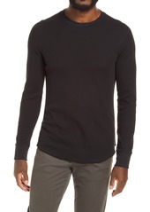 Men's Vince Regular Fit Stretch Cotton Thermal Long Sleeve T-Shirt
