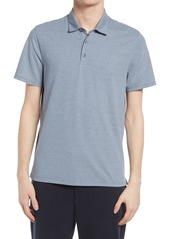 Men's Vince Regular Fit Stripe Short Sleeve Polo