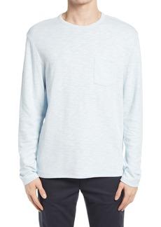 Men's Vince Sun Faded Long Sleeve Pocket T-Shirt