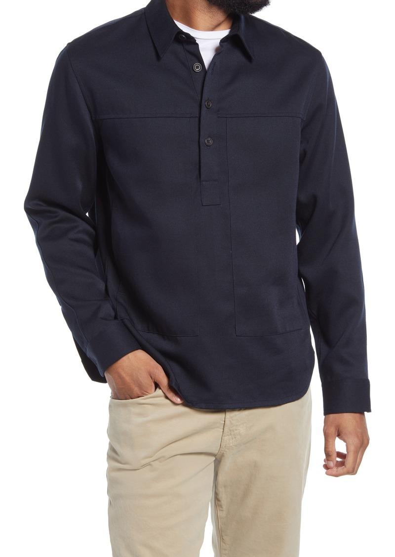 Men's Vince Twill Pullover Shirt