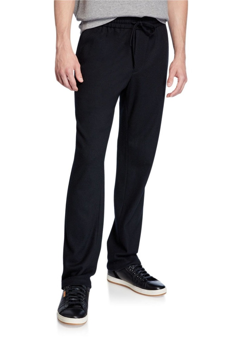 Vince Men's Wool-Blend Track Pants