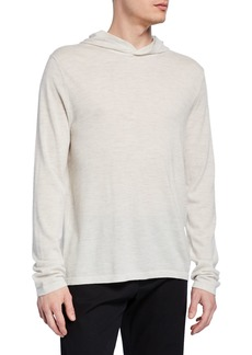 Vince Men's Wool-Cashmere Pullover Hoodie