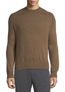 Vince Men's Wool Crewneck Ottoman Sweater