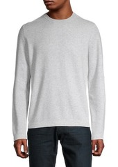 Vince Mesh-Front Sweater