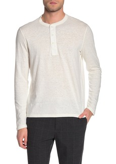 Vince Military Slim Fit Henley