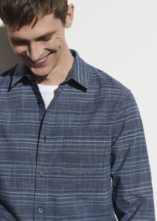 Vince Mini Grid Long Sleeve