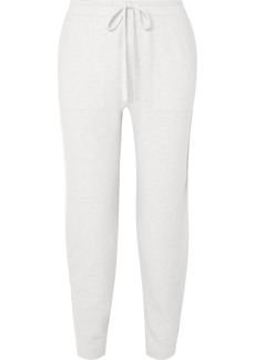 Vince Mélange Wool-blend Track Pants