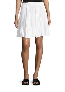 Vince Multi-Pleated Short Skirt