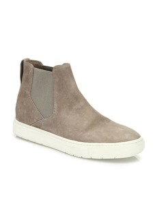 Vince Newlyn Suede High-Top Skate Sneakers
