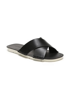 Vince Nico Leather Flat Sandals