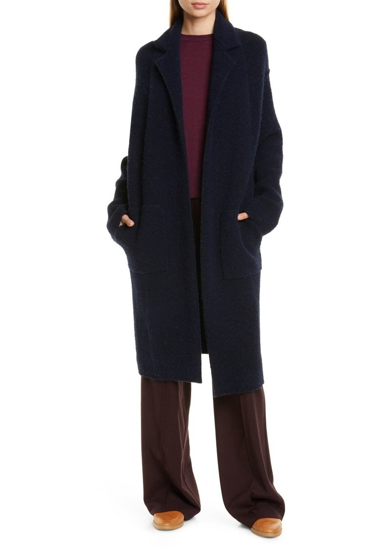Vince Notch Collar Cardigan Coat