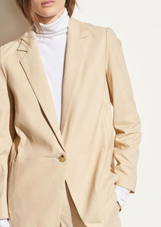 Vince Nubuck Leather Blazer
