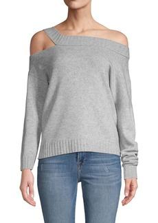 Vince Off-Shoulder Wool & Cashmere Sweater