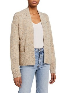Vince Open Rib Trim Cardigan