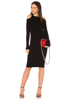 Vince Open Shoulder Dress