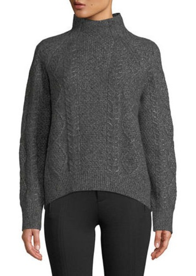5683c50bf46a On Sale today! Vince Oversized Cable-Knit Turtleneck Sweater