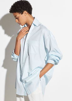 Vince Oversized Classic Cotton Shirt