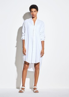 Vince Oversized Classic Shirt Dress
