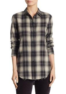 Vince Oversized Cotton Button-Down Shirt