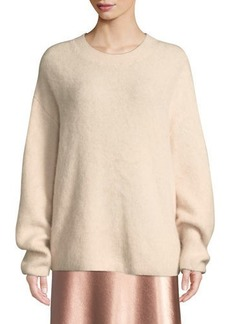 Vince Oversized Funnel-Neck Pullover Sweatshirt
