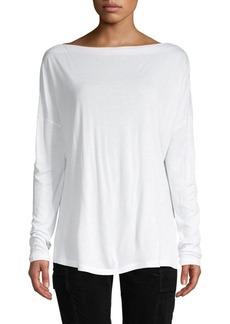 Vince Oversized Long Sleeve T-Shirt