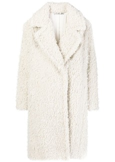 Vince oversized shaggy coat