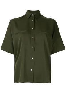 Vince oversized short-sleeve blouse