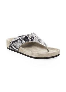 Vince Padma Leather Platform Sandals