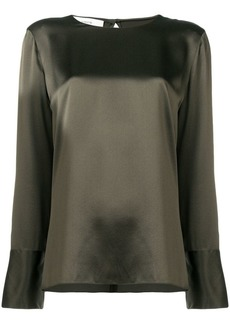 Vince panelled blouse