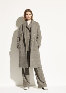 Vince Pebble Texture Wool Coat