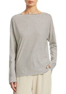 Vince Pencil Stripe Long-Sleeve Shirt