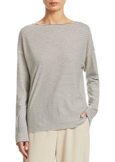 Pencil Stripe Long-Sleeve Shirt