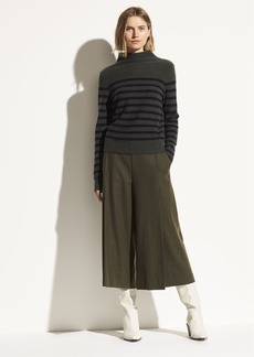 Vince Pleat Front Flannel Culotte