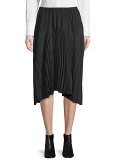Vince Pleated Seamed Skirt