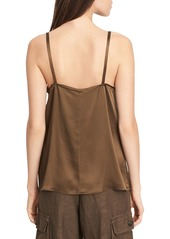 Vince Pleated V-Neck Camisole