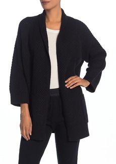 Vince Popcorn Knit Wool Blend Cardigan