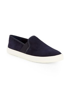 Vince Preston Suede Slip-On Sneakers