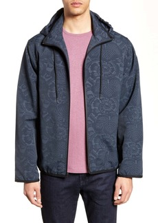 Vince Print Hooded Jacket