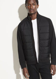 Vince Quilted Knit Jacket