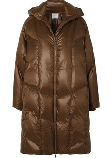 Vince Quilted Shell Down Hooded Coat