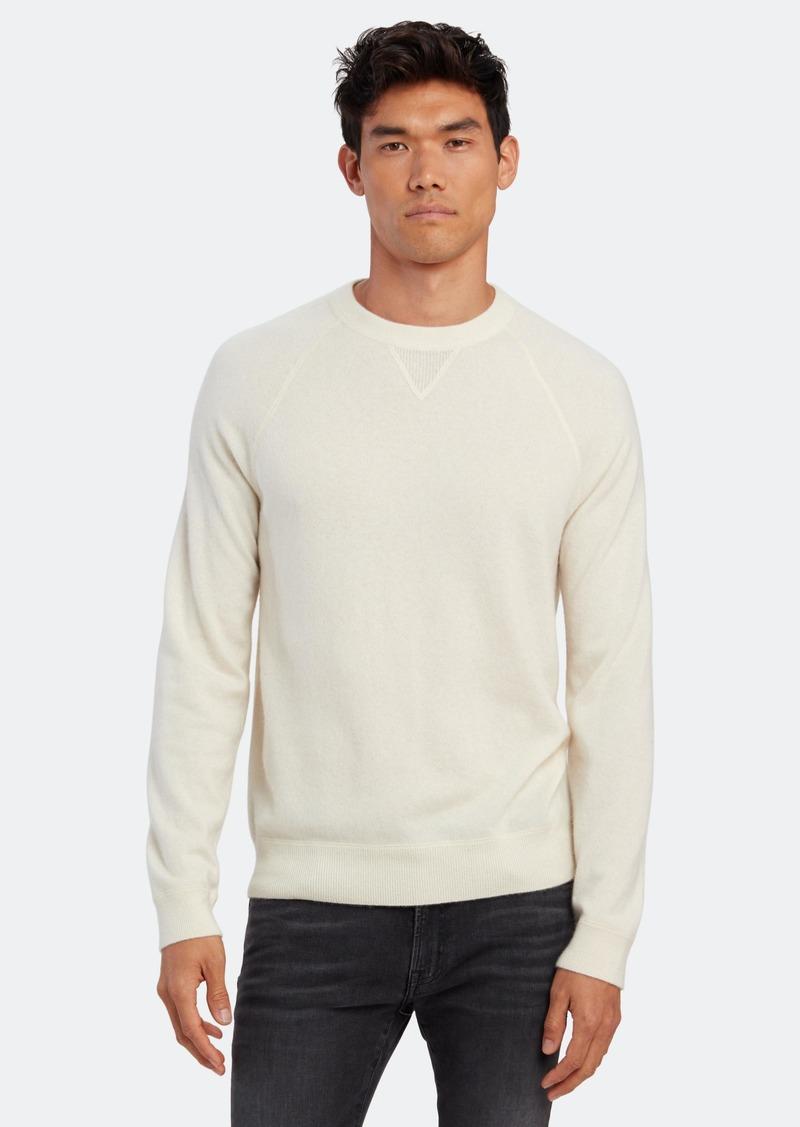 Vince Raglan Long Sleeve Cashmere Crewneck - S - Also in: M, XL, L