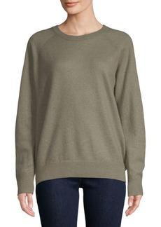 Vince Raglan-Sleeve Cashmere Sweater
