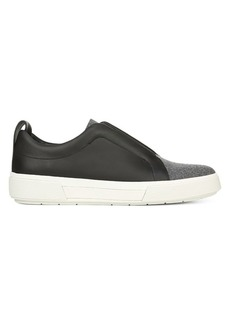 Vince Ranger Leather & Felt Laceless Sneakers